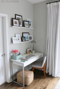 Inspirational home office desks ideas you will totally love 36